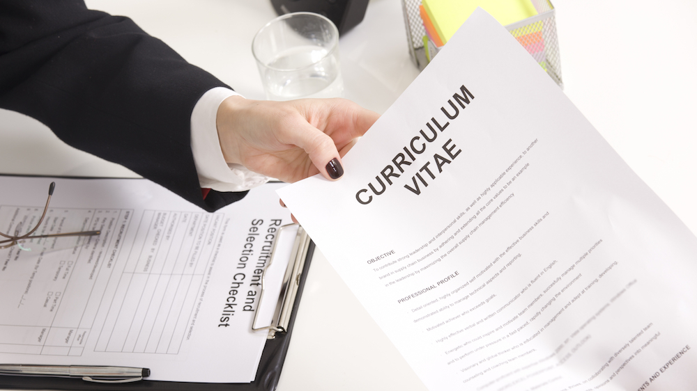3 simple and quick moves to update your CV