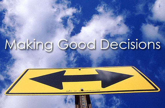 Guide to make good decisions as a director