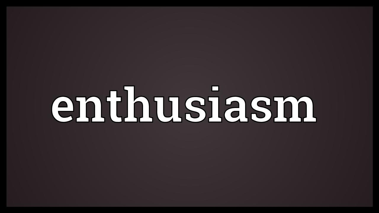 Enthusiasm: 10 strange ways to be enthusiastic and full of energy