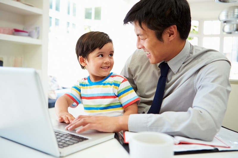 How to educate your children even if you work all day?